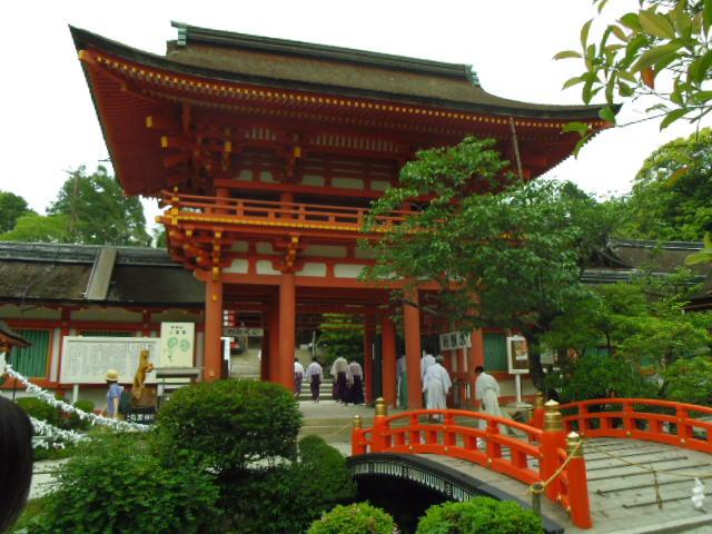 上賀茂神社 初めて行きました