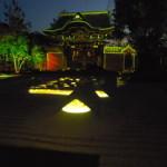 高台寺ライトアップはプロジェクションマッピングもあり
